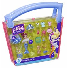 Amazon.com: Polly Pocket Water Friends Fashion Bag: Toys & Games