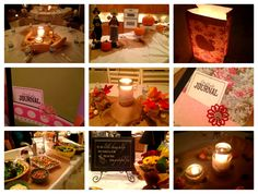 Relief Society Activity - Marci Coombs: Gratitude Dinner.