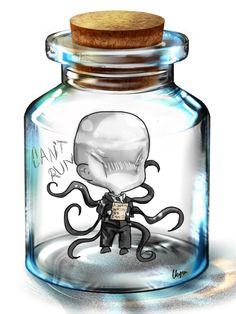 Slender in a Bottle by WarriorWildfur on DeviantArt