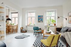 Kök & vardagsrum i fil