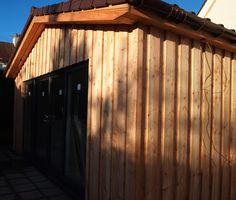 Scottish Larch cladding