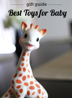 Best developmental toys for babies & young toddlers - great list for that tricky 0 - 24 month age range.