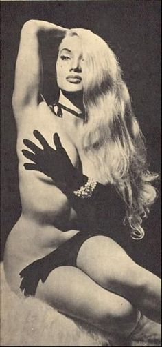 """<3 """"The Cat Girl"""" Lilly Christine, burlesque dancer ~1950"""