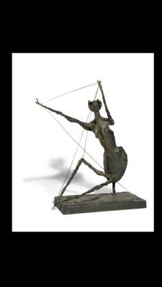 """Germaine Richier - """" La Fourmi """", 1953 - Bronze à patine brune - 101 x 88 x 62,5 cm (*)"""