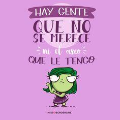 Hay gente que no se merece ni el asco que le tengo. #humor #frases #divertidas #graciosas #funny #sarcasmo Phrase Cool, Cool Phrases, Love Sarcasm, Frases Humor, Mr Wonderful, Pretty Quotes, Little Bit, The Ugly Truth, Quotes En Espanol