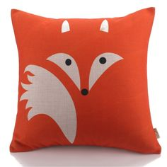 Abstract Fox Pillows for Indoors or Outdoors