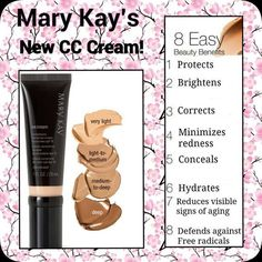 I used to not be a fan of cc cream. It was different than the Mary Kay liquid foundation. But now that is all I wear! #cccream #MaryKay #EverydayMakeup