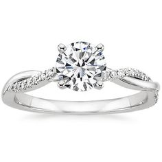 Petite Twisted Vine Diamond Ring #BrilliantEarth. Love this ring! Maybe I'll get it one day :)