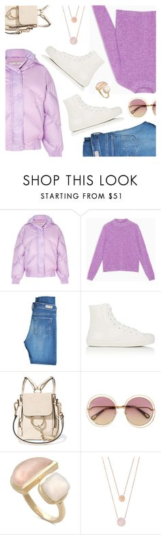 """""""Outfit of the Day"""" by dressedbyrose ❤ liked on Polyvore featuring Ienki Ienki, Max&Co., AG Adriano Goldschmied, Barneys New York, Chloé, Michael Kors, ootd and polyvoreeditorial"""