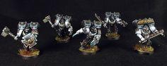 40k - Raven Guard Vanguard Veterans by Myles David