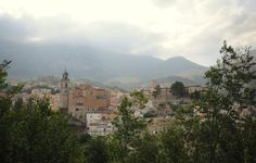Palena, Italy. It may not look like much, but this is where my family is from! I have many living relatives over here!