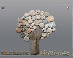 Pebble Art Stone Art Unique Wall Art 3D Decor Art New by AyalaMor