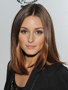 Olivia Palermo shiny bob - healthy hair