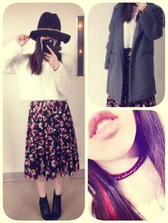 GUのスカート「プリントミディスカート」を使ったMaiのコーディネートです。WEARはモデル・俳優・ショップスタッフなどの着こなしをチェックできるファッションコーディネートサイトです。
