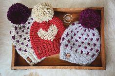 Crochet & Knit Hearts by Phanessa Fong