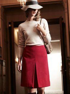 Модели, сшитые по выкройке Юбка расклешенного силуэта Burda Patterns, Sewing, Skirts, Pants, Inspiration, Magazines, Fashion, Trouser Pants, Moda