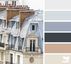 rooftop hues | design seeds | Bloglovin