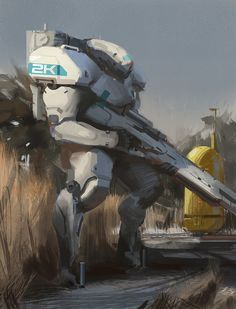 Mech Sketch – Art by Adrian Majkrzak on ArtStation. Character Concept, Character Art, Character Design, Alien Concept, Concept Art, Gundam, Arte Robot, Larp, Sci Fi Armor