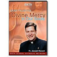 SAINT FAUSTINA DIVINE MERCY IN OUR SOULS EWTN 4-DVD SET.  $39.95