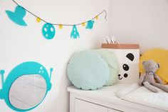 Garland Galaxy Spaceship Planet will make your kids room unique and special! by @kita4kids