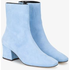 Designer Clothes, Shoes & Bags for Women Suede Leather Shoes, Blue Suede Shoes, Blue Boots, Suede Boots, Winter Shoes For Women, Womens Summer Shoes, Cute Shoes Heels, Toe Shoes, Baby Blue Shoes