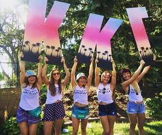 Kappa Kappa Gamma at University of Iowa #KappaKappaGamma #KKG #Kappa #BidDay #letters #sorority #Iowa