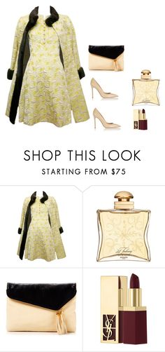 """""""Elegancia 100"""" by carolortiz ❤ liked on Polyvore featuring Hermès, Henri Bendel, Yves Saint Laurent and Gianvito Rossi"""