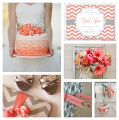 coral and gray wedding | coral_gray_grey_wedding+ideas.jpg
