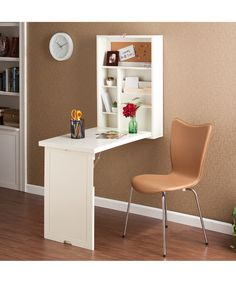 Kids Homework Stations! White Convertible Fold-Out Desk | something special every day