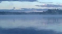 Sininen uni #Puula #Hirvensalmi #lake #Finland #järvi #kesäyö