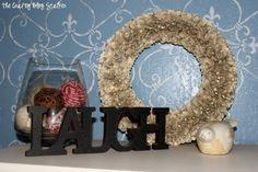Vintage Book Page Paper Wreath | Door Hanger | Front Door | Handmade | DIY