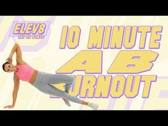 10 Minute Ab Workout, 10 Minute Abs, Month Workout, Workout Schedule, Workout Routines, Arm And Leg Workout, Back Workout Women, Boxing Workout, Back Of Arm Exercises