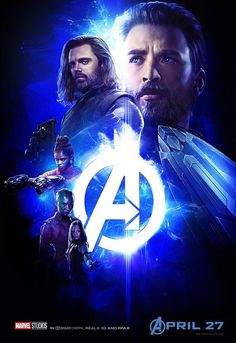 Loving this cap Bucky poster for infinity war