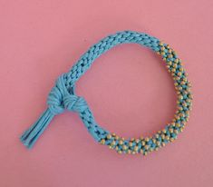 Easy Way to Finish a Kumihimo Bracelet! - The Beading Gem's Journal