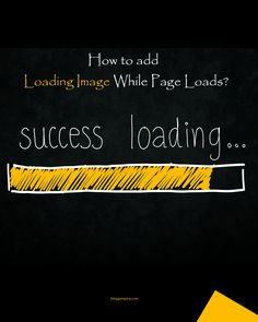 How to add Loading Image While Page Loads? Gif Animated Images, Loading Icon, Blog Page, Wordpress Plugins, Ads, Display, Reading, Floor Space, Billboard