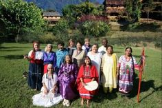 13 Indigenous Grandmothers Gather to Save Mother Earth at the Birthplace of the Buddha Read more at http://indiancountrytodaymedianetwork.com/gallery/photo/13-indigenous-grandmothers-gather-to-save-mother-earth-at-the-birthplace-of-the-buddha-144276