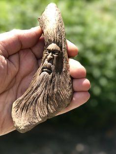 Wood Spirit Carving Art By Darren Ellerton