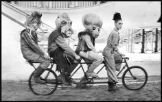 aliens apparently like to ride bikes.