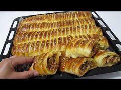 Arabian Food, Delicious Donuts, Bread Rolls, Empanadas, Food Videos, Waffles, Sandwiches, Appetizers, Lunch