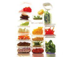 Prep healthy foods early in the week and eat healthy all week long.