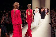 Alberta Ferretti Fashion Show in Milan
