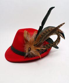 Alpenflüstern Damen Hut rot