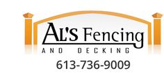 Al's Fencing has been in business in Ottawa since 1987 and is a BBB member. We specialize in iron, cedar, pressure treated, PVC, and custom fencing. Fencing Companies, Ottawa, Fence