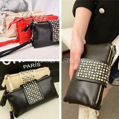 £3> Women Card Coin holder ZIP Wallet Leather Soft Clutch Purse HandBag Bag | eBay