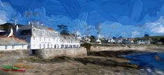 The Idle Rocks, St. Mawes Photo/Photo Art by Mary Alice