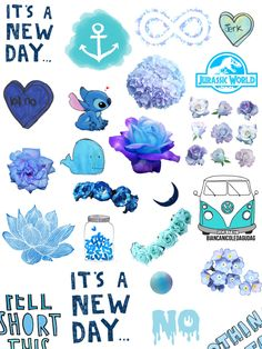 Blue collage :D