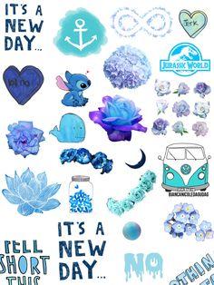 Blue collage :D