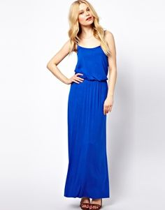 Enlarge River Island Waisted Maxi Dress