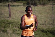 Needing no introduction, Stephen Muzhingi 2014 Marathons, East London, Legends, Marathon