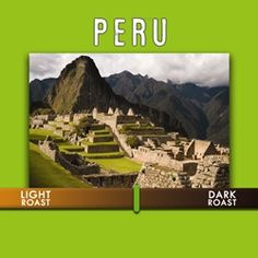 Peru Vida Alta : A full bodied, medium roast coffee. Well balanced with toasted almond, sweet apple, dark chocolate flavor notes and nutty undertones.